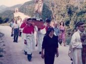 Santa Eurosia nella processione di San Felice